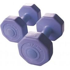 Виниловые гантели ATEMI AD-02 - 8 кг 533