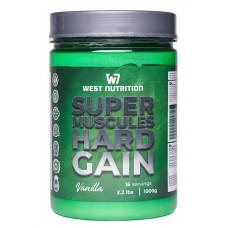 West Nutrition Super Muscle Hard Gain 1 kg (vanilla)