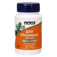 GTF Chromium 200 mcg, 100 tabl