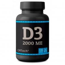 CMTech Витамин  Д3 2000 МЕ .120 капс.