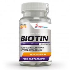 WestPharm Biotin,                        60 капс/ 10000мкг