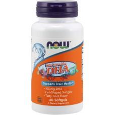 DHA 100 mg chewable, 60 softgel (ЖЕВАТЕЛЬНЫЕ ТАБЛ.)