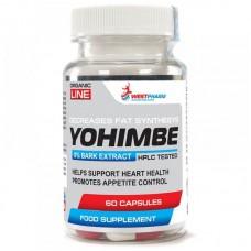 WestPharm Yohimbe Extract 60капс/50мг