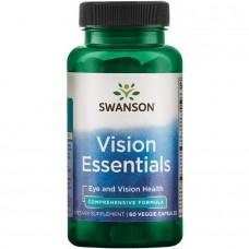 Swanson COND VISION ESSENTIALS 60 VEG CAPS