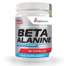 WestPharm Beta Alanine, 90капс/500мг