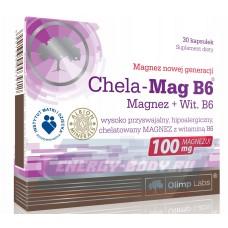 Витамины Olimp Chela-Mag B6 Forte Mega Caps, 60 капс