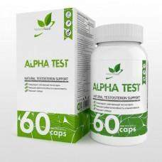 NaturalSupp Альфа Тест 60 капс.