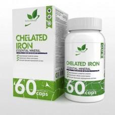 NaturalSupp Хелат Железа 25 мг/капс.60 капс.