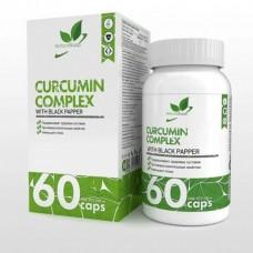 NaturalSupp Куркумин 60 капс.,150мг/капс. + черный перец 5мг.