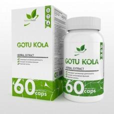 NaturalSupp Gotu Kola 60 капс. 500мг/капс.