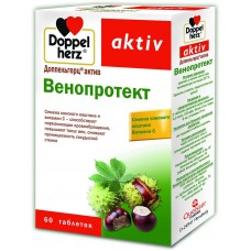 Венопротект Doppelherz 'Aktiv', 60 таблеток
