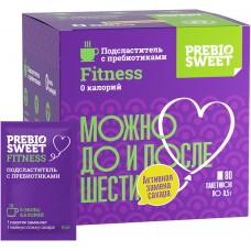 Сахарозаменитель Пребиосвит Фитнес (Prebiosweet Fitness), коробка, 80 саше
