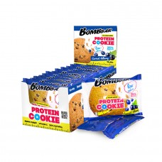 BombBar Low Calorie Protein Cookie Смородина-Черника (коробка 12шт)