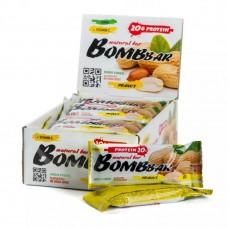 BombBar Protein Bar (коробка 20шт) Арахис