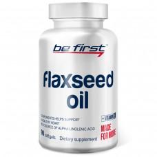 Льняное масло омега-3 в капсулах Be First Flaxseed Oil 90 капсул