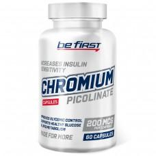Пиколинат хрома Be First Chromium Picolinate 200 мкг 60 капсул