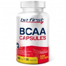 Аминокислоты БЦАА капсулы Be First BCAA Capsules 120 капсул
