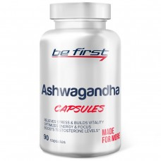 Адаптоген ашваганда (ашвагандха) Be First Ashwagandha Capsules 90 капсул