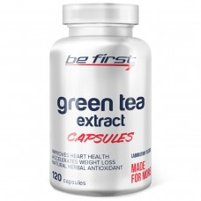 Антиоксидант зеленый чай экстракт Be First Green Tea Extract Capsules, 120 капсул