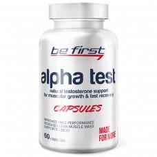 Средство для повышения тестостерона Be First Alpha Test 60 капсул