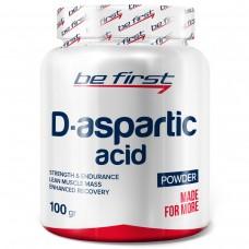 Д-аспарагиновая кислота Be First D-Aspartic Acid Powder 100 гр, без вкуса