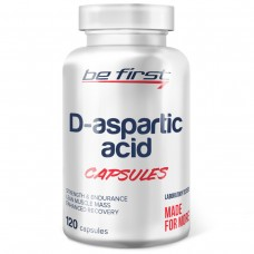 Д-аспарагиновая кислота Be First D-Aspartic Acid Capsules 120 капсул