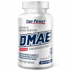 Добавка для мозга и кожи Be First DMAE (диметиламиноэтанол, ДМАЭ) 60 капсул
