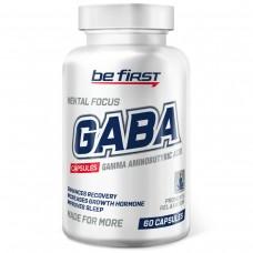 Гамма-аминомасляная кислота GABA (ГАБА, ГАМК) Be First Capsules 60 капсул
