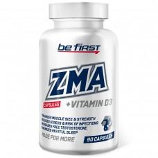 Витаминно-минеральный комплекс ЗМА (цинк+магний+витамин Б6+Д3) Be First ZMA + vitamin D3 90 капсул