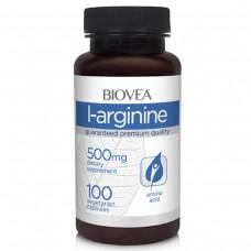 Аргинин Biovea 'L - Arginine 500 mg' 100 капс