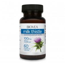 Гепатопротектор Biovea 'Milk Thistle 100 mg' 60 капс