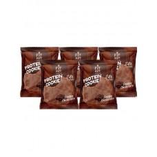 Fit Kit Chocolate Protein Cookie, 5шт x 50г (двойной шоколад)