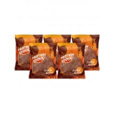 Fit Kit Chocolate Protein Cookie, 5шт x 50г (апельсиновый нектар)