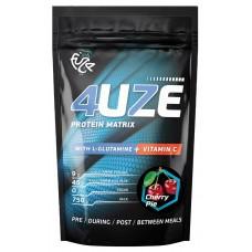 Протеин Fuze '4uze + Glutamine', вишневый пирог, 750 г