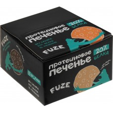 Печенье белковое шоколад Cookies Fuze, 640 г, 16 упаковок