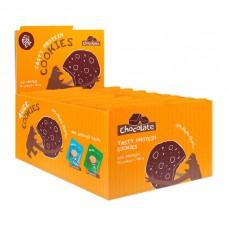 Протеиновое печенье Fuze Cookies, шоколад, 16 шт х 40 г