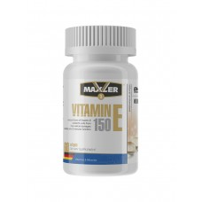 Добавка Maxler Vitamin E, 60 гелевых капсул