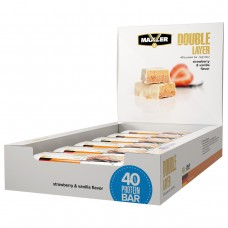 Протеиновый батончик Maxler Double Layer (40% белка) - 12 штук по 60 гр,