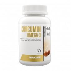 Maxler Curcumin + Omega 3 ( куркумин и Омега-3 ), 60 мягких капсул