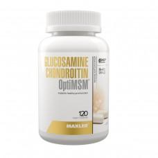 Глюкозамин Хондроитин MSM, Maxler Glucosamine Chondoitin + OptiMSM, 120 капсул
