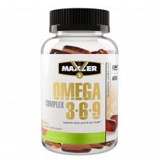 Maxler Omega 3-6-9 Сomplex (Омега 3-6-9 комплекс), 90 гелевых капсул