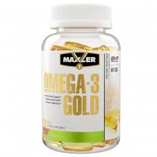 Maxler Omega-3 Gold, Омега-3 жирные кислоты, 120 гелевых капсул
