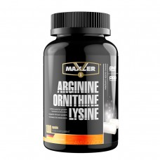 Комплекс аминокислот Maxler Arginine-Ornithine-Lysine - 100 таблеток