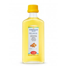 Norwegian Fish Oil Омега-3 Жир Печени Трески, 240 мл