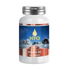 Norwegian Fish Oil Витамин D3 1000 ME, 60 таблеток