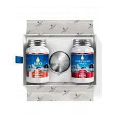 Norwegin Fish Oil Подарочный набор с омега-3 и витамином D3 Glow Box