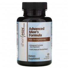 Natrol, Shen Min, Витамины для укрепления волос, для мужчин, продвинутая формула, 60 таблеток