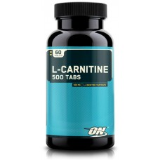 Аминокислота L-карнитин Optimum Nutrition 'L-Carnitine', 500 мг, 60 таблеток