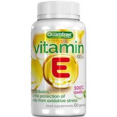 Витамины Quamtrax Nutrition Vitamin E, 60 капсул