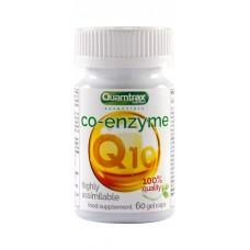 Коэнзим Quamtrax Nutrition Co-Enzyme Q10 30 мг, 60 капсул